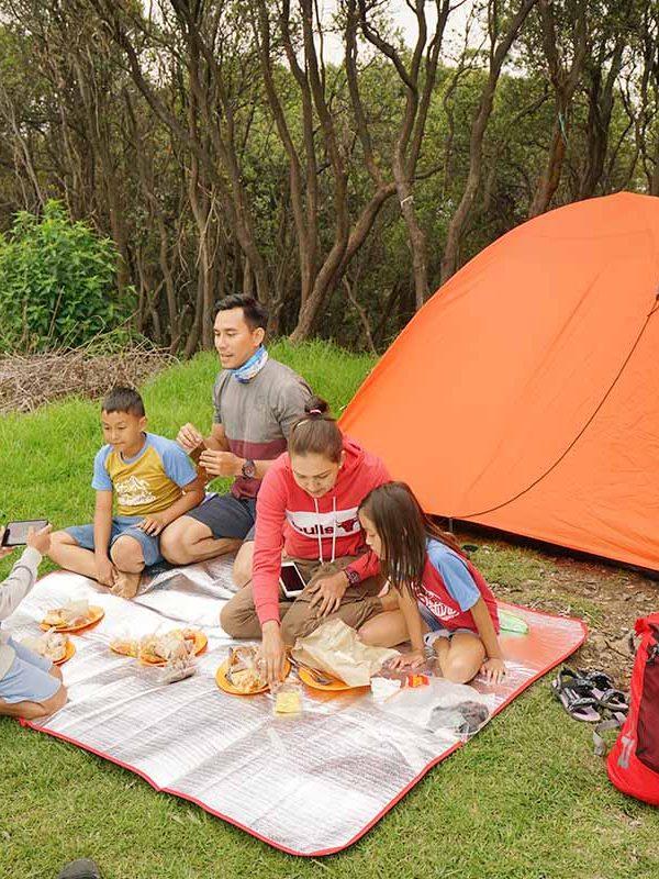 Camping at Papandayan