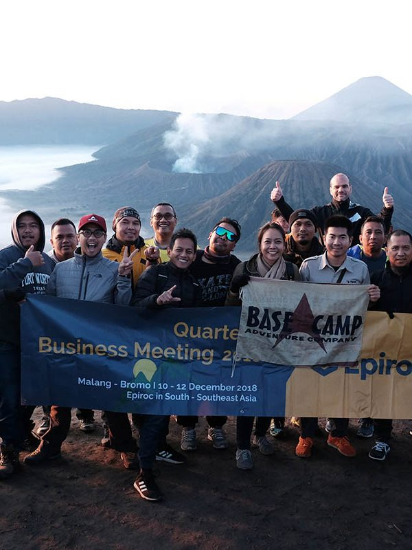 Corporate Outing at Mount Bromo