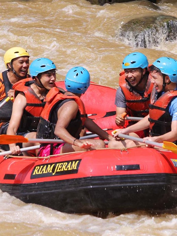 Rafting in Indonesia